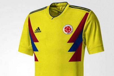 Colombia presentará el nuevo uniforme en los amistosos de noviembre