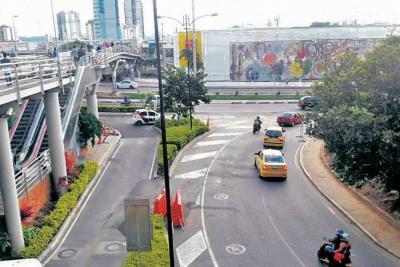 Nuevo cierre vial por obras del Tercer Carril en autopista a Floridablanca