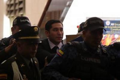 Exfiscal Gustavo Moreno firmó principio de oportunidad