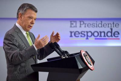 Santos reitera su llamado para aprobación de la JEP