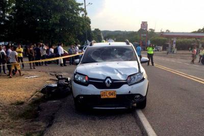 Tres heridos dejó grave accidente en Santander