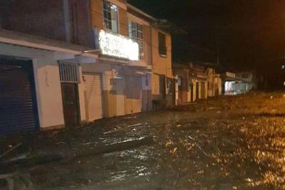 Desbordamiento de un río generó una grave emergencia en Corinto, Cauca