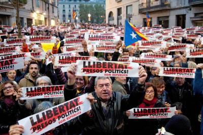 La Justicia española anuló la declaración de independencia de Cataluña