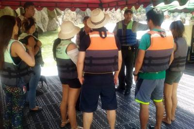 Siguen controles a las actividades recreativas en embalse Topocoro