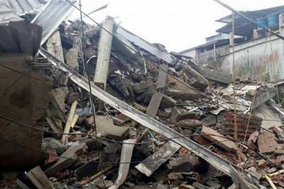 Desplome de edificio deja tres heridos en Buenaventura