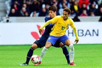 Brasil derrotó 3-1 a Japón en amistoso