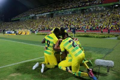 Atlético Bucaramanga empató 2-2 ante Rionegro