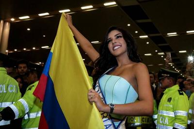 Señorita Colombia rumbo a Miss Universo