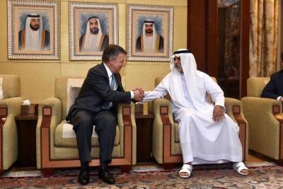 Emiratos Árabes donó US$45 millones para el posconflicto en Colombia