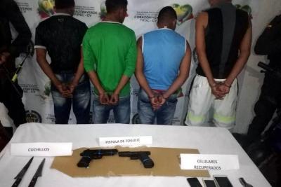 Robaron en el puente entre Barrancabermeja y Yondó, pero fueron detenidos