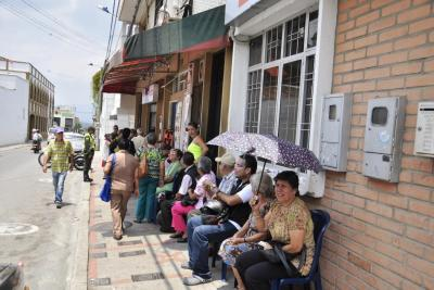 Hay siete nuevos puntos de pago del programa Colombia Mayor