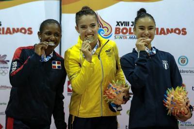 Con 21 oros, Colombia lidera la tabla de medallería de los Juegos Bolivarianos
