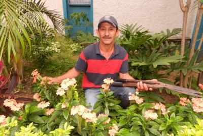 Secretos de un jardinero en Bucaramanga