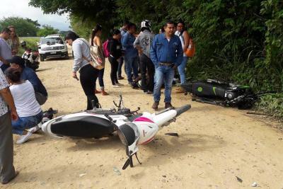 Accidente en vía a Puerto Wilches deja tres heridos