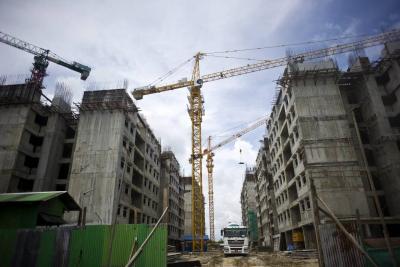 Área aprobada de construcción aumentó 152,7 % en Santander