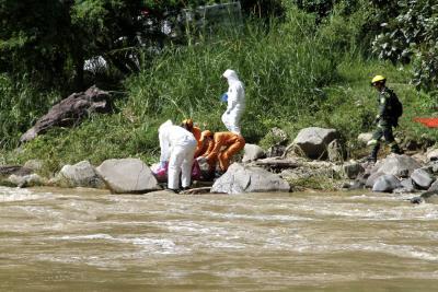 Apareció cuerpo del niño que fue arrastrado por el río Suratá