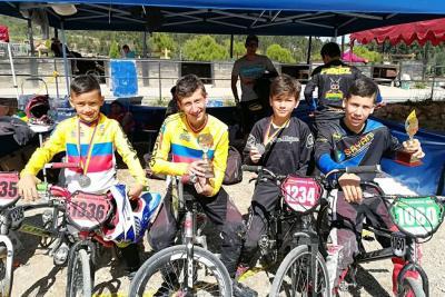 Títulos nacionales para el BMX santandereano