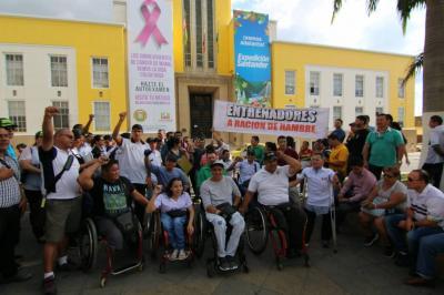 Deportistas santandereanos reclaman por la falta de apoyo