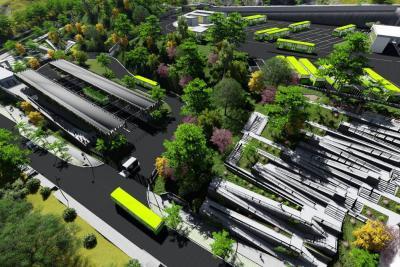 Metrolínea adjudicó contrato para obras del Portal del Norte