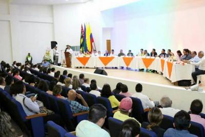 Se realizó sesión descentralizada de Asamblea de Santander en San Gil