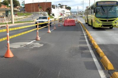 Esta noche hay cierre en la autopista a Bucaramanga por obras del Tercer Carril