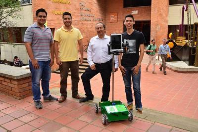 Crean en Bucaramanga robot para apoyar formación entre las distintas sedes académicas