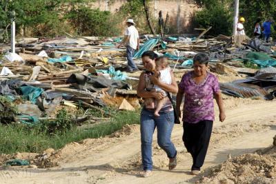 Van 169 emergencias y 22 mil afectados por efectos del clima en Santander