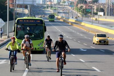 Biciusuarios proponen corredores para 20 kilómetros de ciclorrutas en Bucaramanga
