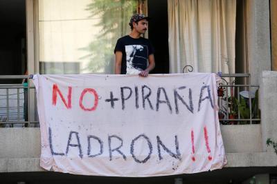 Detenidos jóvenes que ocuparon sede Sebastián Piñera, quien busca reelección en Chile