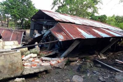 Falla geológica generó deslizamiento que cerró vía a San Vicente de Chucurí