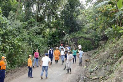 Declarada la calamidad pública en San Vicente