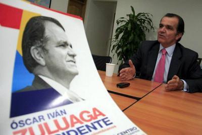 Óscar Iván Zuluaga regresa a la dirección del Centro Democrático
