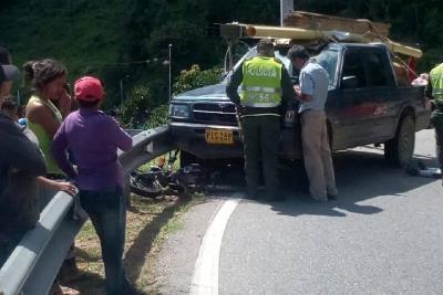 Murió otro motociclista en accidente de tránsito