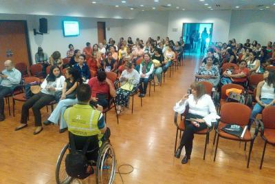 Falta ubicar 63 % de personas en condición de discapacidad en Bucaramanga