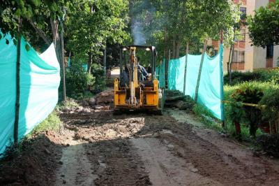 Avanzan trabajos en Bucarica por obra del Sendero Ecológico