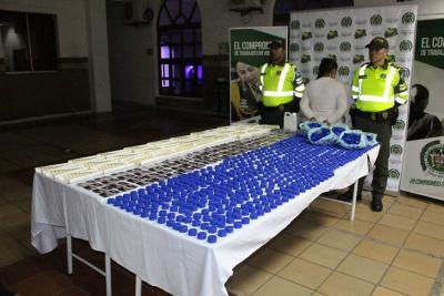 Policía incauta elementos para elaborar licor adulterado en Bucaramanga
