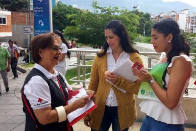 Cruz Roja lanzó la 'vacuna contra la violencia' en Bucaramanga