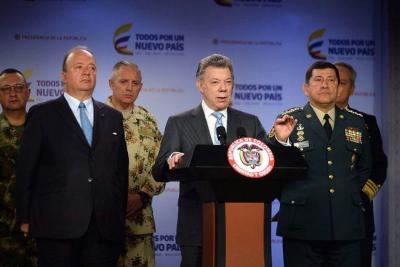 Santos realizó cambios en la cúpula militar