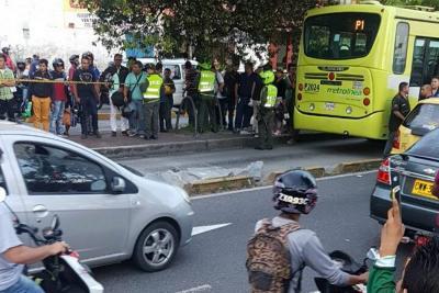 Un niño murió tras ser arrollado por un bus de Metrolínea en Bucaramanga