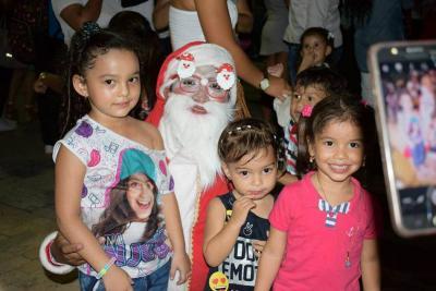 Barrancabermeja se ilumina en Navidad