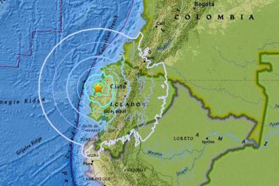 Sismo de seis grados despierta a Ecuador este domingo