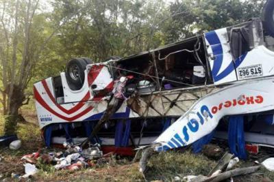 Conductor bumangués murió en accidente de bus que viajaba de Cartagena a Medellín