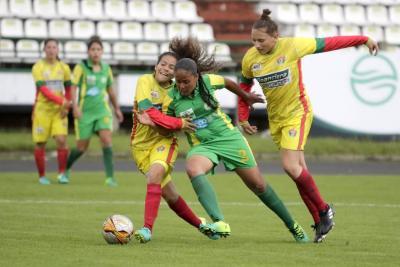 Feliz debut para la selección Santander juvenil femenina