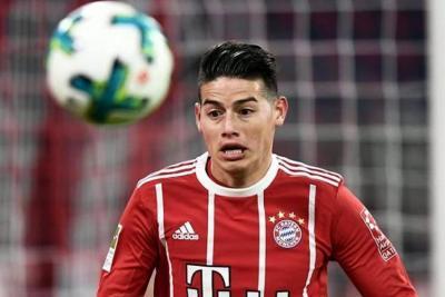 """El técnico del Bayern dijo que """"James juega cada vez mejor"""""""