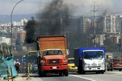 290 toneladas de partículas contaminan el aire cada año en Bucaramanga