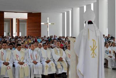 La Diócesis anunció traslados de párrocos y vicarios en Guanentá