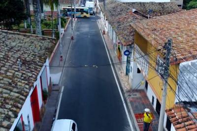 Se optimizó la red de alcantarillado en casco antiguo de Piedecuesta