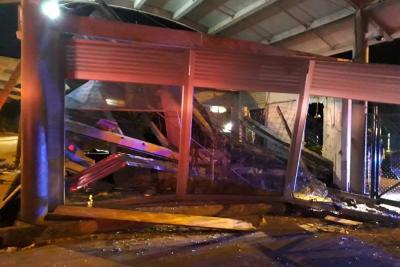 Un muerto y dos heridos en aeropuerto de Barrancabermeja por desplome de estructura