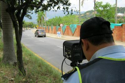 Volvieron los controles de velocidad con radares a Bucaramanga