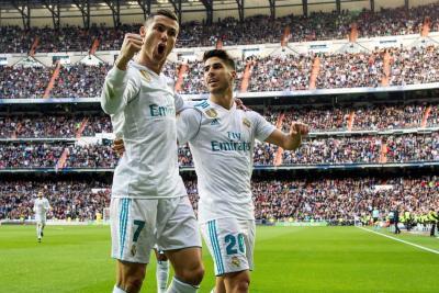 Real Madrid goleó 5-0 al Sevilla con doblete de Cristiano Ronaldo